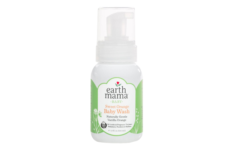 Earth Mama Organics Sweet Orange Body Wash